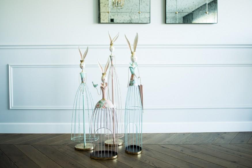 Lampion metalowy od Home Decoration