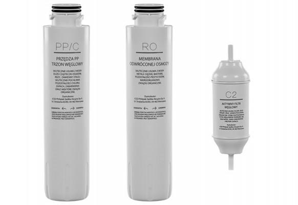 Zestaw filtrów do filtra wody PH-507-i