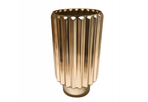 Kaja szmpańskie złoto z matowym wykończeniem i z błyszczącym złotym wnętrzem Home Decoration 30 cm