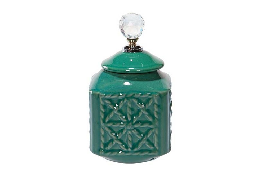 Pojemnik dekoracyjny butelkowa zieleń
