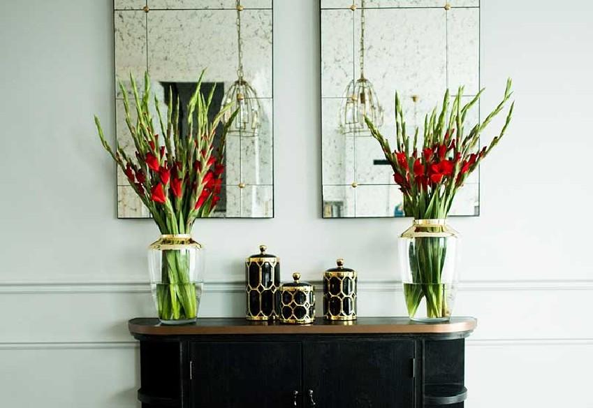 Stylowy wazon na kwiaty
