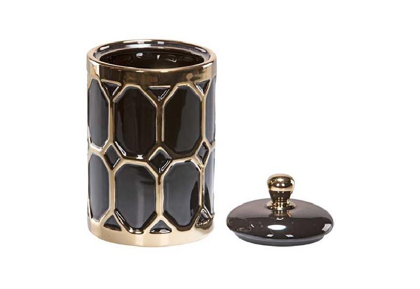 pojemnik dekoracyjny black gold