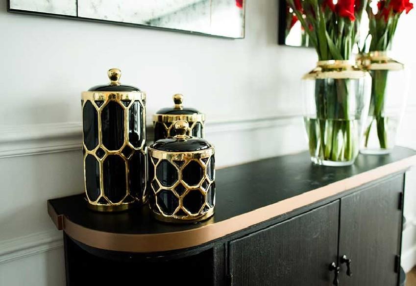 stylowe pojemniki od Home Decoration