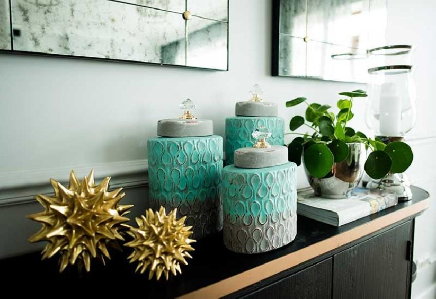 Pojemniki dekoracyjne serii Nafi