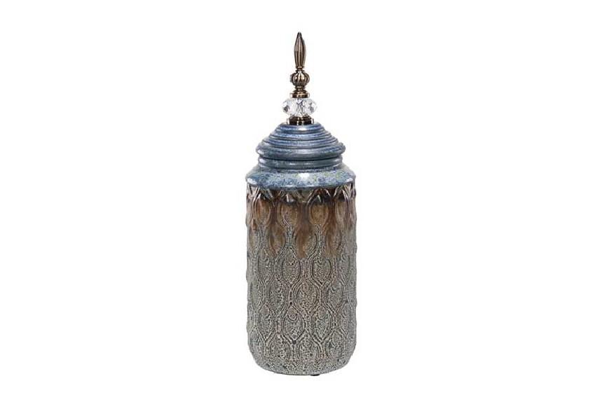 Pojemnik ceramiczny z kryształem Mufid