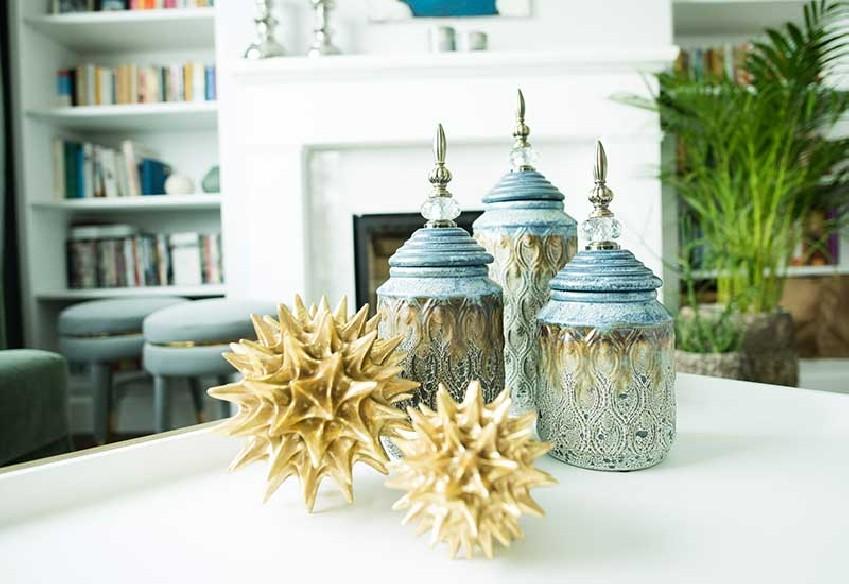 seria pojemników dekoracyjnych od Home Decoration