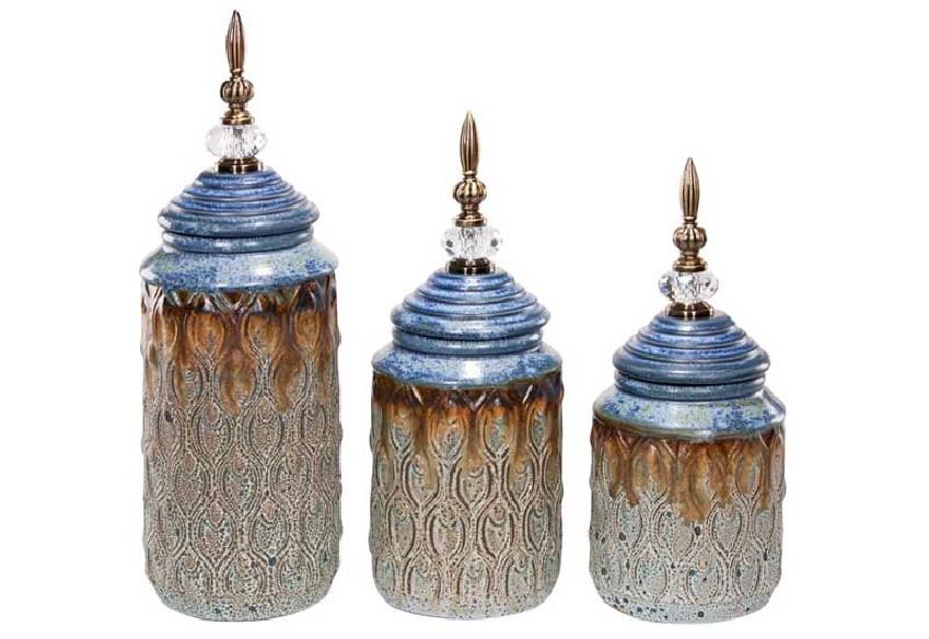 Seria pojemników dekoracyjnych