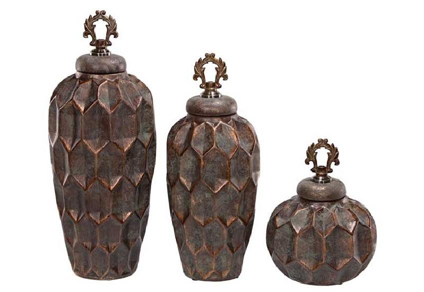 Pojemniki dekoracyjne z serii Hana