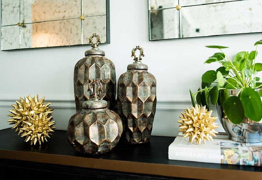 Pojemniki ceramiczne home decoration