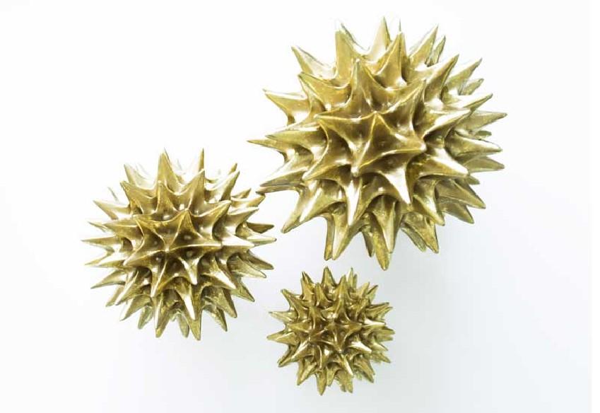 Figurka jeżowiec złoty