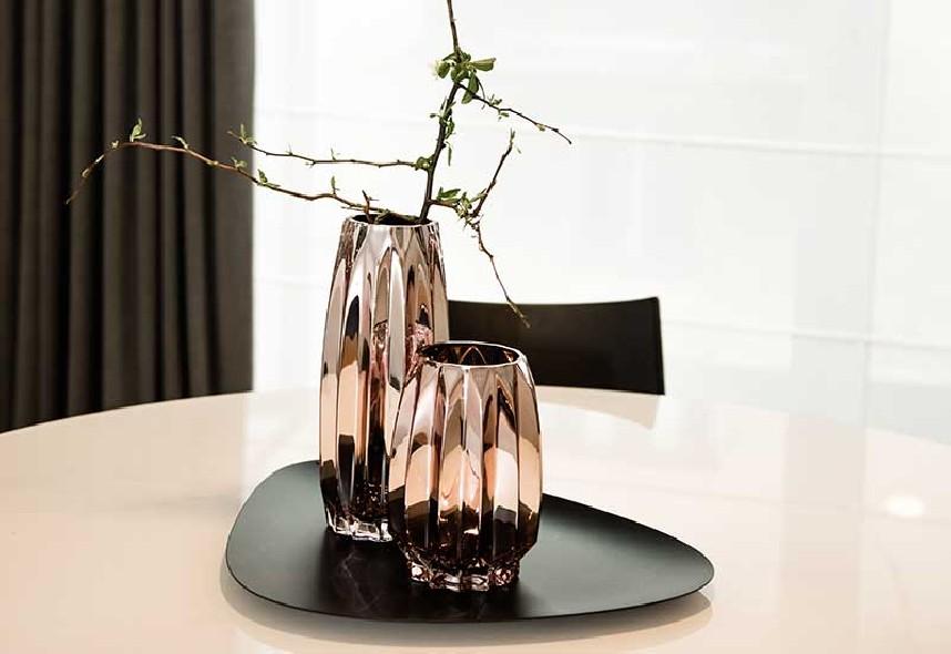 wazon złoty